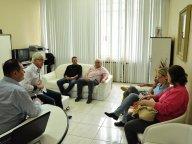 VEREADORES SE REUNEM COM PATRONAGEM DO CTG CARRETEIROS DE HORIZONTE
